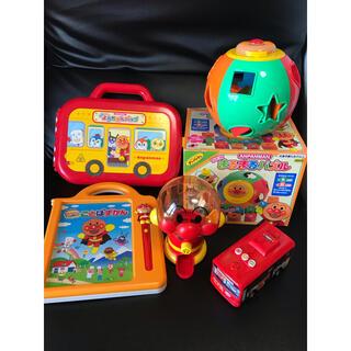 アンパンマン(アンパンマン)のアンパンマン おもちゃ セット 5点(知育玩具)