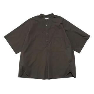 Graphpaper Stand CollarYoke SleeveShirt