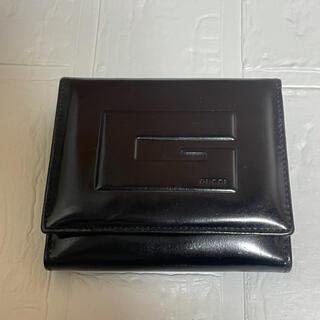 グッチ(Gucci)のGUCCI  二つ折り財布  エナメル(折り財布)