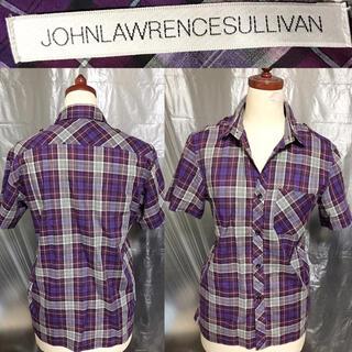 ジョンローレンスサリバン(JOHN LAWRENCE SULLIVAN)の新品近い美品JOHN LAWRENCE SULLIVAN送料込シャツ日本製ドメス(シャツ)