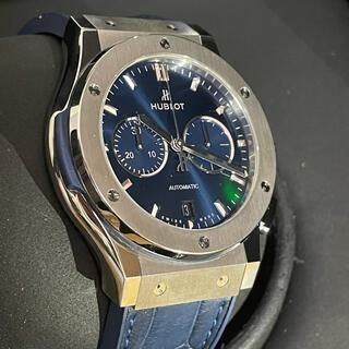 ウブロ(HUBLOT)の541.NX.7170.LR HUBLOT ウブロ クロノ クラシック ブルー(腕時計(アナログ))