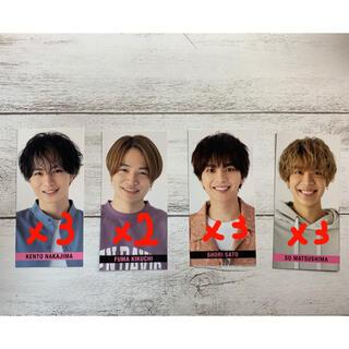 Myojo6月号 smileメッセージカード(アイドルグッズ)