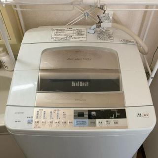日立 - 【ほぼ新品中古】日立ビートウォッシュ9kg 全自動洗濯機(BW-9SV)