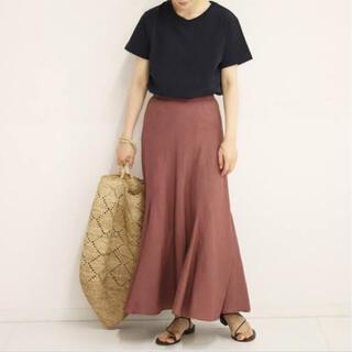 Plage - plage  リネンマーメイドスカート