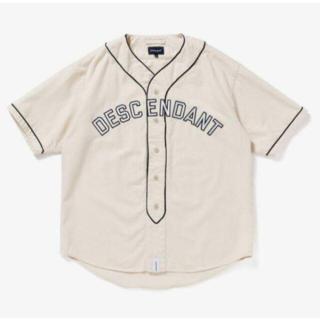DESCENDANT BLEEK B.B SS SHIRT ベースボールシャツ