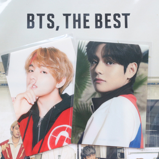 BTS THE  BEST FC盤 テヒョン トレカ