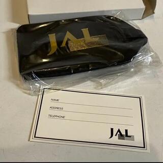 ジャル(ニホンコウクウ)(JAL(日本航空))の未開封!JAL バゲージタグ ネームタグ 黒 金ロゴ 旧ロゴ 日本航空(航空機)