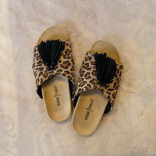 ミネトンカ(Minnetonka)のMinnetonka Leopard Sandals(サンダル)