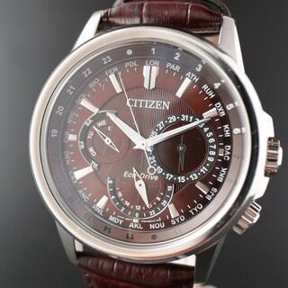 CITIZEN - 【訳あり大特価】シチズン エコドライブ メンズ腕時計 ワールドタイム 展示品