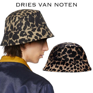 DRIES VAN NOTEN - 【Dries Van Noten】レオパード ナイロン バケットハット