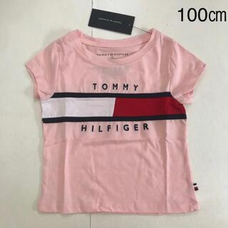 TOMMY HILFIGER - 【新品タグ付き】 トミーヒルフィガー グラフィックプリント ガールズTシャツ