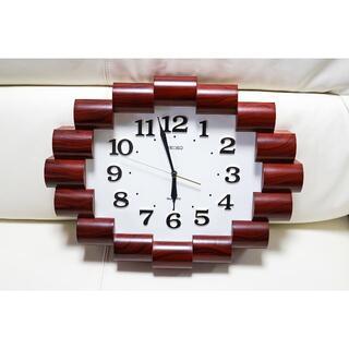 SEIKO - SEIKOの壁掛け時計 高さ42.5cm横幅32.5cm奥行7cm