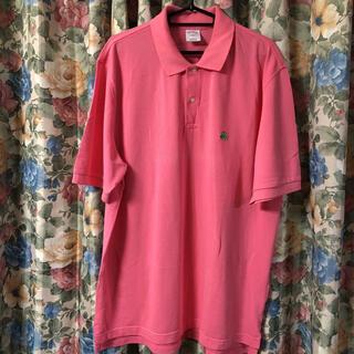 ブルックスブラザース(Brooks Brothers)のBrooksBrothers コーラルピンクポロシャツ(ポロシャツ)