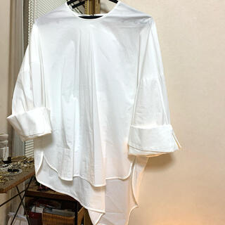 ENFOLD - ENFOLD デザインシャツ ブラウス