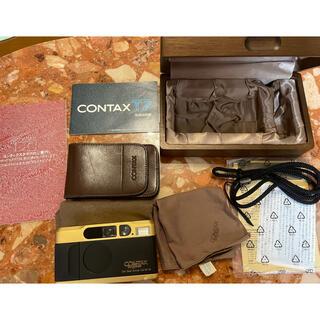 京セラ - Contax T2 60 years チタンゴールド