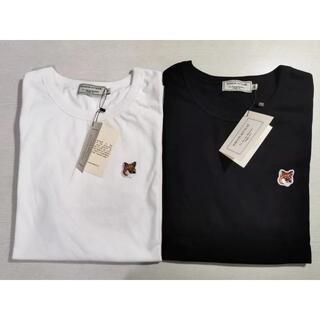 メゾンキツネ(MAISON KITSUNE')の即決歓迎!!2枚Mサイズ MAISON KITSUNE キツネ  Tシャツ(Tシャツ/カットソー(半袖/袖なし))