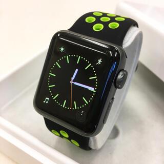 アップルウォッチ(Apple Watch)のApple Watch series2 アップルウォッチ 38mm 黒(腕時計(デジタル))