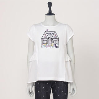 ANNA SUI mini - 【ご確認用】ANNA SUImini 140【新品】♡ハウス刺繍♡