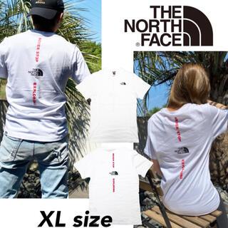 THE NORTH FACE - ノースフェイス Tシャツ 半袖 バーチカル NSE XLサイズ NF0A4CAX