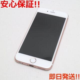 アイフォーン(iPhone)の美品 UQmobile iPhone6S 32GB ローズゴールド (スマートフォン本体)