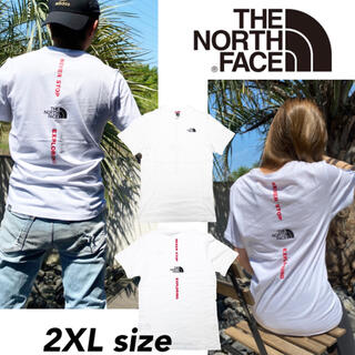 THE NORTH FACE - ノースフェイス Tシャツ 半袖 バーチカル NSE  2XL NF0A4CAX
