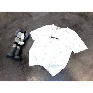 miumiu - miumiu ミュウミュウ半袖Tシャツ SM選択可能