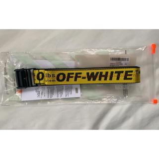 オフホワイト(OFF-WHITE)の【早い者勝ち】off-white ベルト(ベルト)