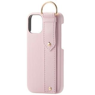 ELECOM - iPhone12mini レザー ケース  オープン型  5.4 ピンク