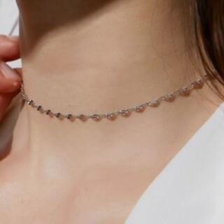 UNITED ARROWS - 【 再入荷 】eclair necklace * silver