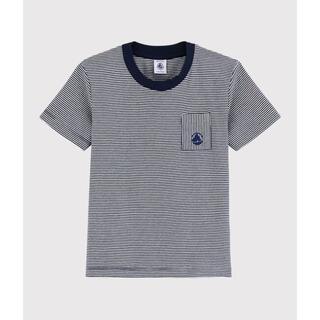 PETIT BATEAU - 新品未使用 プチバトー 5a ミラレ半袖Tシャツ