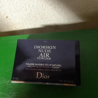 クリスチャンディオール(Christian Dior)のディオール スキンヌードエアーパウダーコンパクト(フェイスパウダー)(フェイスパウダー)