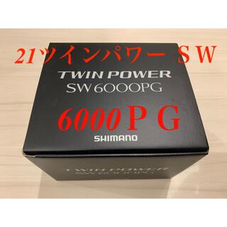 シマノ(SHIMANO)の【新品・送料込】シマノ 21ツインパワー SW 6000PG(リール)