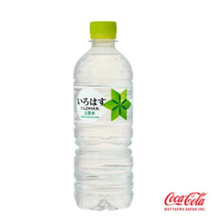 コカコーラ(コカ・コーラ)のい・ろ・は・す 555mlPET 24本x3ケース72本(ミネラルウォーター)