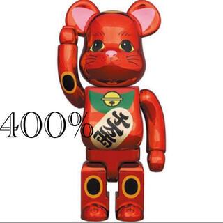 MEDICOM TOY - BE@RBRICK 招き猫 梅金メッキ 400%