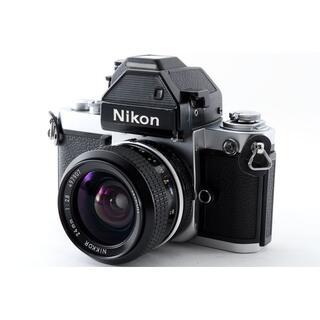 ニコン(Nikon)の動作品♪モルト新品‼ Nikon F2 フォトミック 24mm F2.8(フィルムカメラ)
