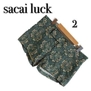 sacai luck - sacai luck  サカイラック 総レースショートパンツ 2