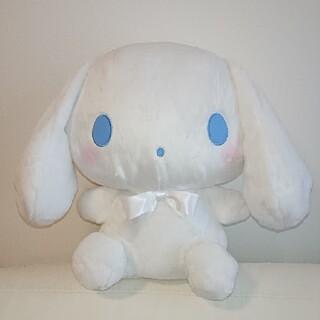 サンリオ - シナモロール カラフルリボンBIGぬいぐるみ 白 snowman 非売品