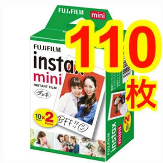 フジフイルム(富士フイルム)の【専用】チェキフィルム 110枚 instax mini(フィルムカメラ)