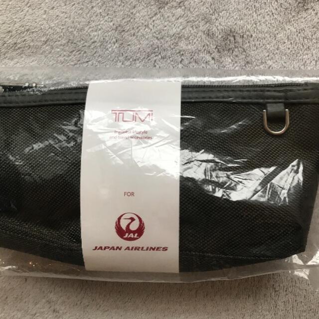 TUMI(トゥミ)のTUMI JALビジネスクラスアメニティ カーキ インテリア/住まい/日用品の日用品/生活雑貨/旅行(旅行用品)の商品写真