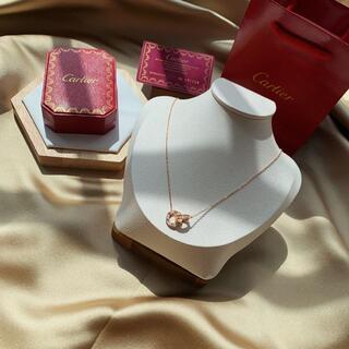 Cartier - カルティエ ネックレス LOVE 18kピンクゴールド ダイヤモンド