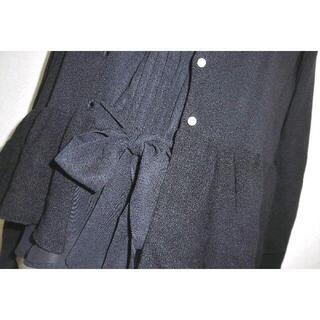 GALLERY VISCONTI - 新品 定価17490円 ギャラリービスコンティ リボン パール アンサンブル黒2