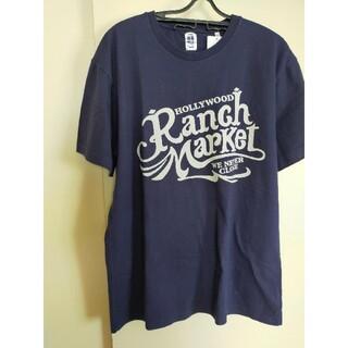 HOLLYWOOD RANCH MARKET - 2021S/S ハリウッドランチマーケット オールドスクエアロゴ Tシャツ未使用