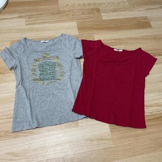 エルプラネット(ELLE PLANETE)のTシャツ カットソー 2枚セット(Tシャツ(半袖/袖なし))