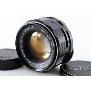 ペンタックス(PENTAX)の美品♪☆M42マウント‼☆ Pentax Takumar 55mm F1.8(レンズ(単焦点))