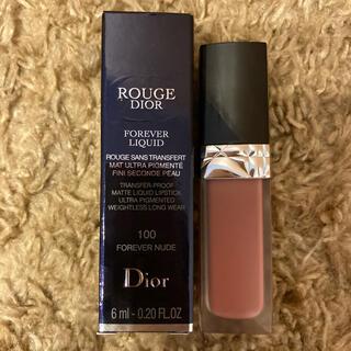 Dior - ディオール♡ルージュディオールフォーエバーリキッド100番