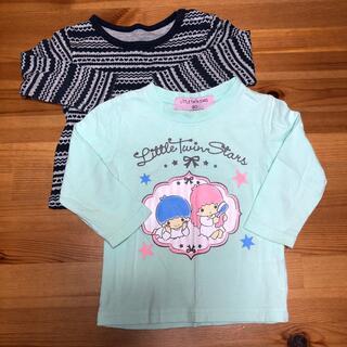 サンリオ(サンリオ)の80㌢ 女の子ロンTセット(Tシャツ)