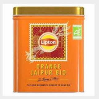 リプトン LIPTON  オレンジジャイプール BIO リーフ缶 150g(茶)
