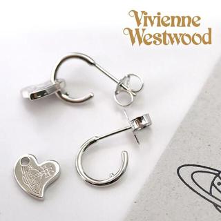 ヴィヴィアンウエストウッド(Vivienne Westwood)の【気持ち程度の値下げあり】ヴィヴィアン ピアス ハート(ピアス)