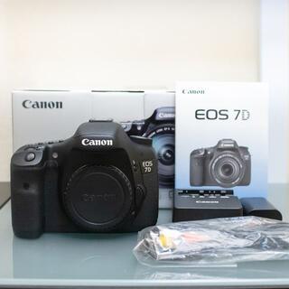 Canon - Canon EOS 7D ✼ シャッター数12909回