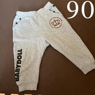ベビードール(BABYDOLL)のベビードール グレー パンツ ズボン 90サイズ(パンツ/スパッツ)